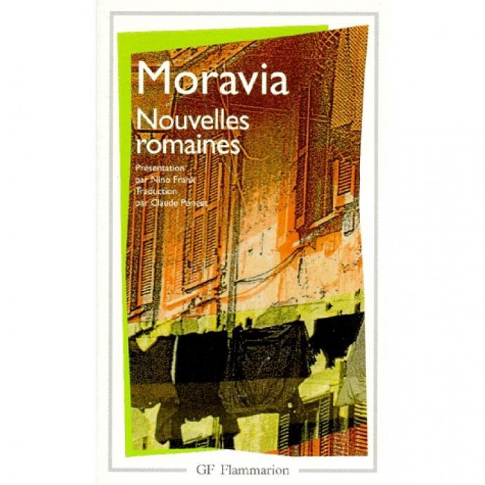 Avec ses <em>Nouvelles romaines</em>, l&rsquo;auteur de <em>L&rsquo;ennui</em> et <em>Le m&eacute;pris</em> (parmi d&#39;autres) nous entra&icirc;ne dans l&rsquo;Italie des ann&eacute;es 50. Au travers de 36 courts r&eacute;cits, il livre un portrait de Rome en plusieurs teintes.