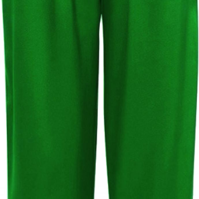 Un pantalon en soie : Pantalon vert émeraude Eres, 320€.