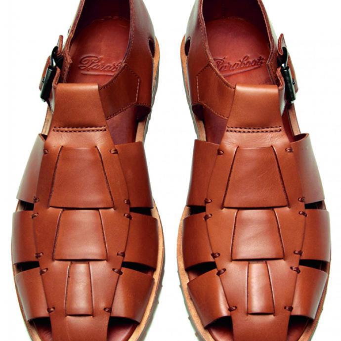 Sandale en cuir Pacific, Paraboot, 265€.