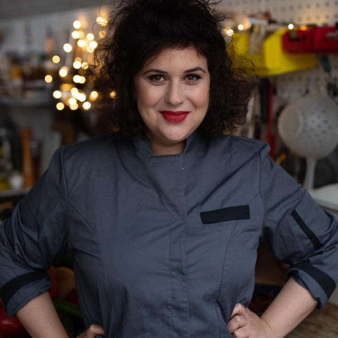 Simona, l'une des cheffes derrière les recettes