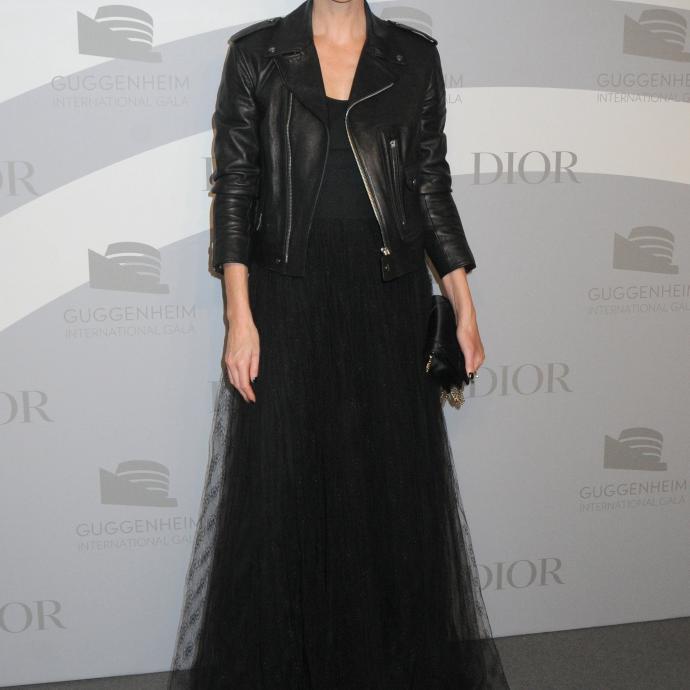 La mannequin Charlize Theron.