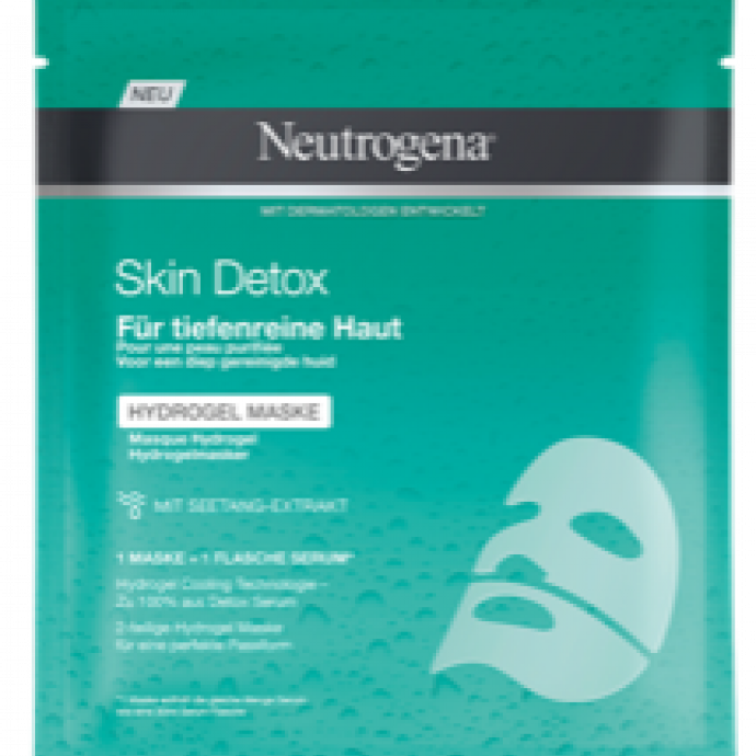 Masque Skin Detox hydrogel, Neutrogena, 3,99 €