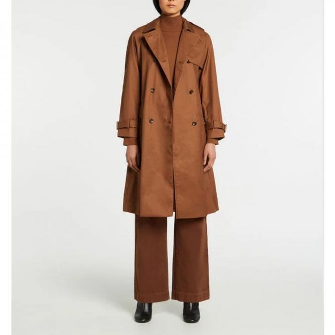 Trench femme genoux Gaston coton - Galeries Lafayette- 119,99€