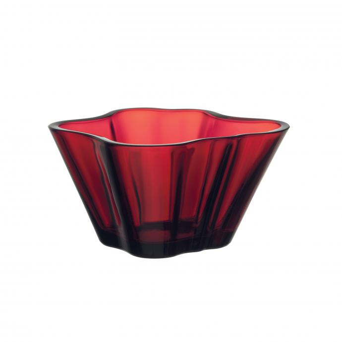 Vide-poches rouge, Iittala,49,90€.