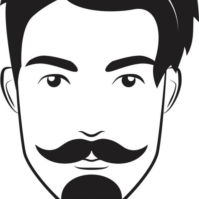 Sa moustache sculptée à la cire et son bouc long, souvent pointu, ont également fait partie des best of de ces dernières années malgré son côté désuet.