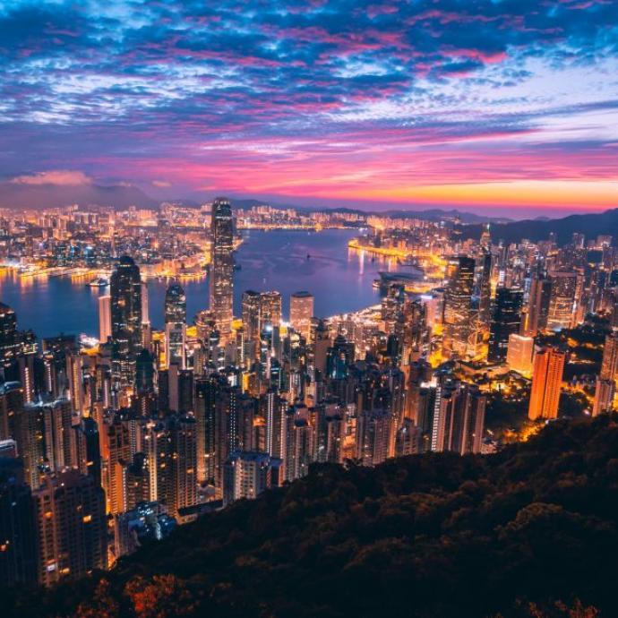 1. Hong Kong<br />Credits: unsplash/simon zhu