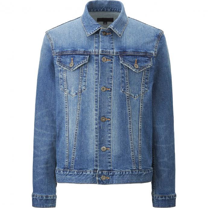 Veste en jeans, UNIQLO, 39,9€.