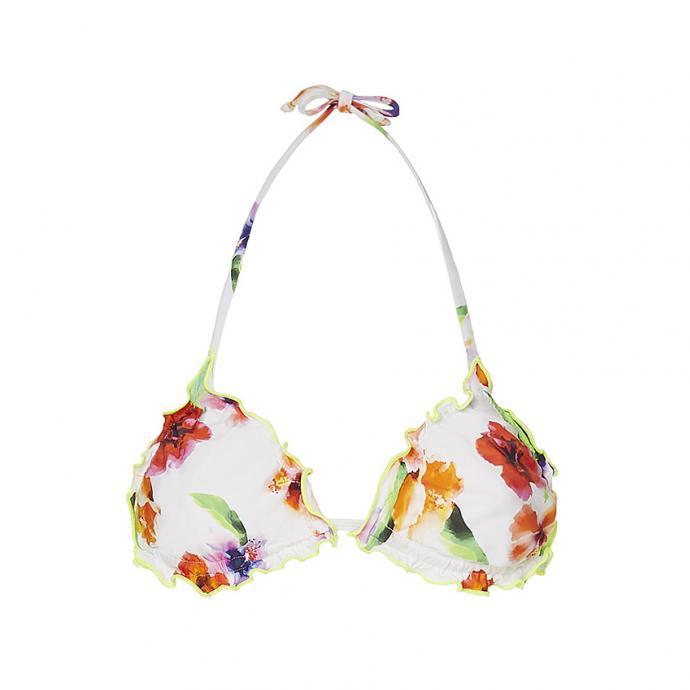 Bikini fleuri à nouer, Liu Jo, 108€.