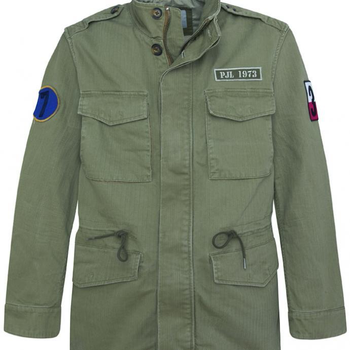 <strong>Un blouson sporty</strong> : Veste militaire en toile, Pepe Jeans, 199&euro;