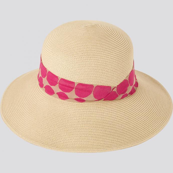 Chapeau de paille, Uniqlo X Marimekko, 29.90€