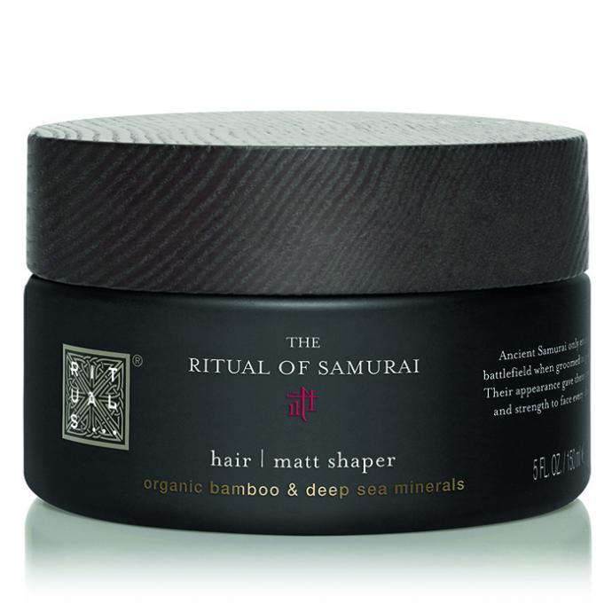 <strong>Un gel mat pour cheveux </strong>: Ritual of Samurai, Matt Shaper, Rituals,17,90&euro;