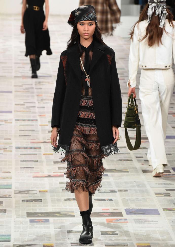 défilé Dior automne-hiver 2020