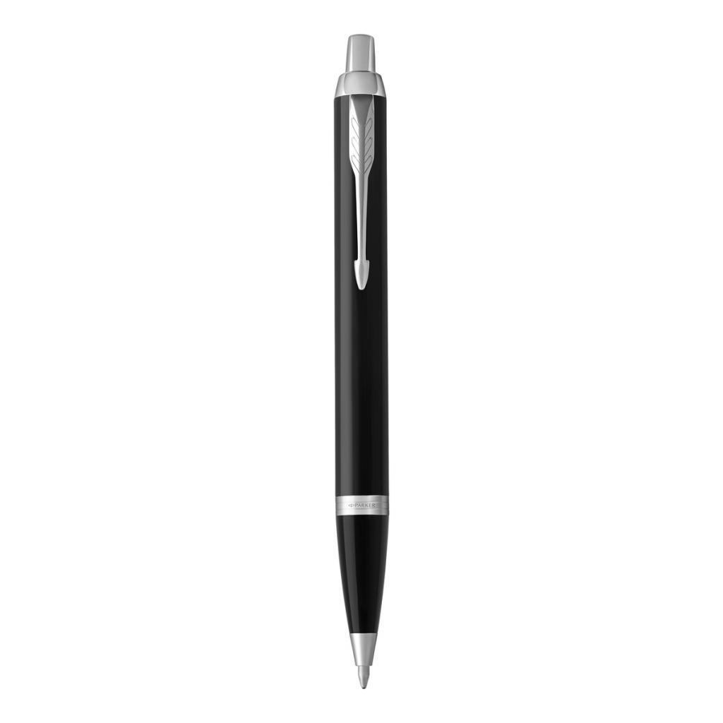 """<em>Un stylo plume Parker, 47,50€,disponible <a href=""""https://www.stylo-parker.fr/fr/nos-produits/stylos/stylo-plume-parker-im-noir-ct"""" target=""""_blank"""">ici</a>.</em>"""