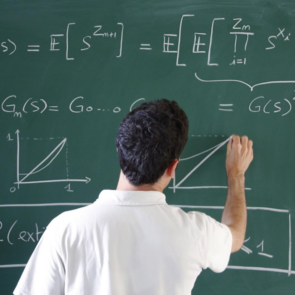 Tolérance au stress : 57 -Salaire annuel moyen : 112 530 $ -Un mathématicien est une personne faisant des mathématiques, la base de son activité principale.<sup><em>Crédit photo : Flickr/Ecole polytechnique</em></sup>