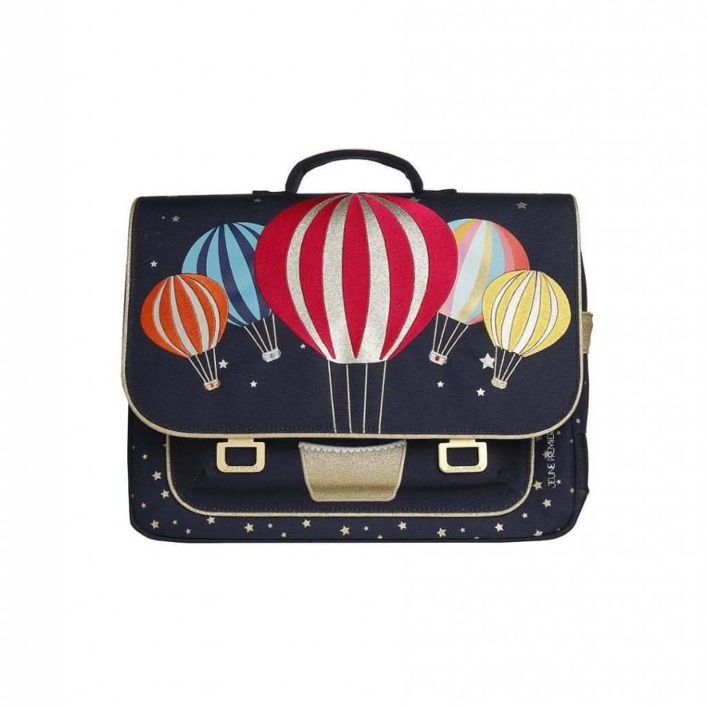 """Le cartable midi Balloons, Jeune Premier, 149,89 €. Disponible <a href=""""https://www.jeunepremier.be/fr/collections/schoolbags/products/it-bag-midi-balloons """" target=""""_blank"""">ici.</a>"""