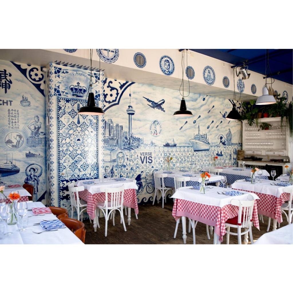 De Matroos en Het Meisje est un restaurant aux allures d'ancien repaire de pecheurs.