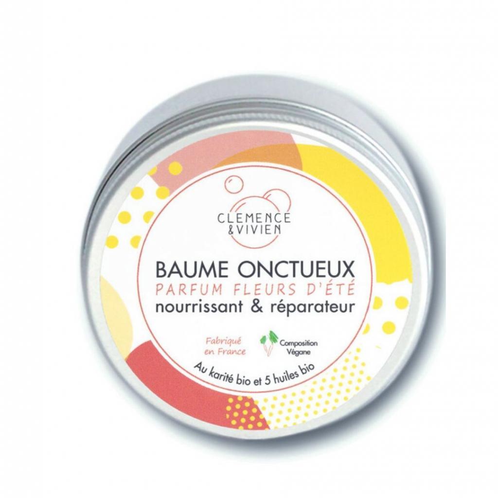 Baume multi-usages à la fleurs d'été, Clemence & Vivien, 11,90 € pour 150 ml.