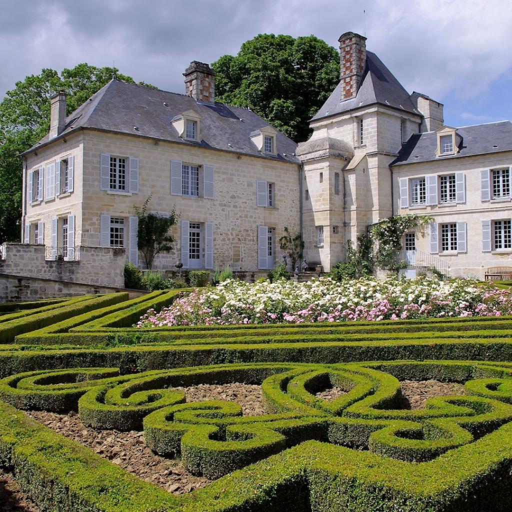 Les jardins du chateau de La Muette