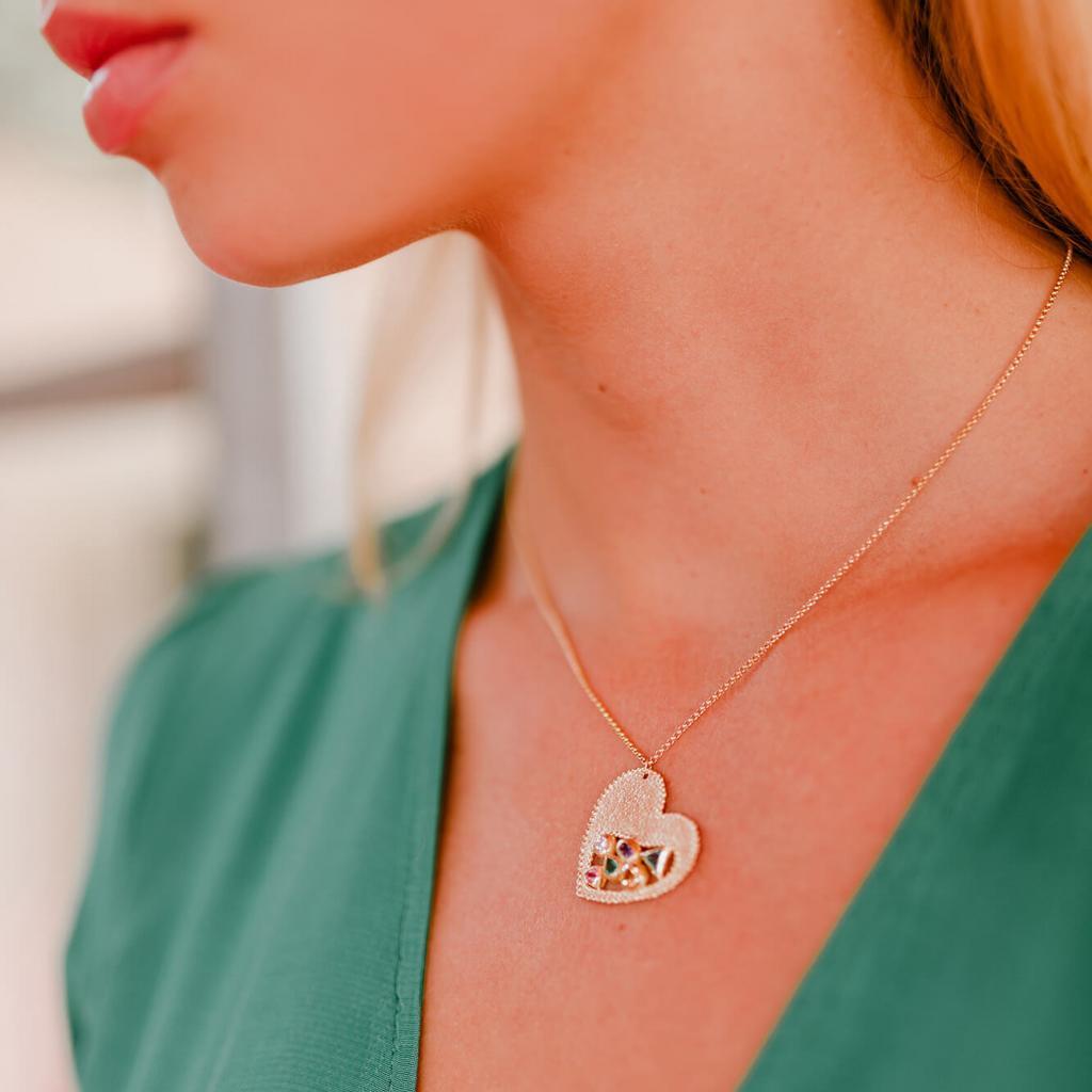 Laurence Vandenborre, collier en or 18 carats, 1 890 euros