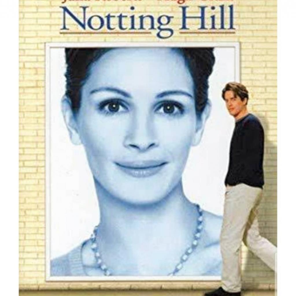 On retrouve ici encore Julia Roberts, mais qui incarne cette fois-ci une star d'Hollywood célibataire, qui va croiser le chemin d'un libraire, célibataire lui aussi, lors d'un passage éclair à Londres. Une histoire d'amour à l'eau de rose, mais trépidante, qui ne fait jamais de mal!