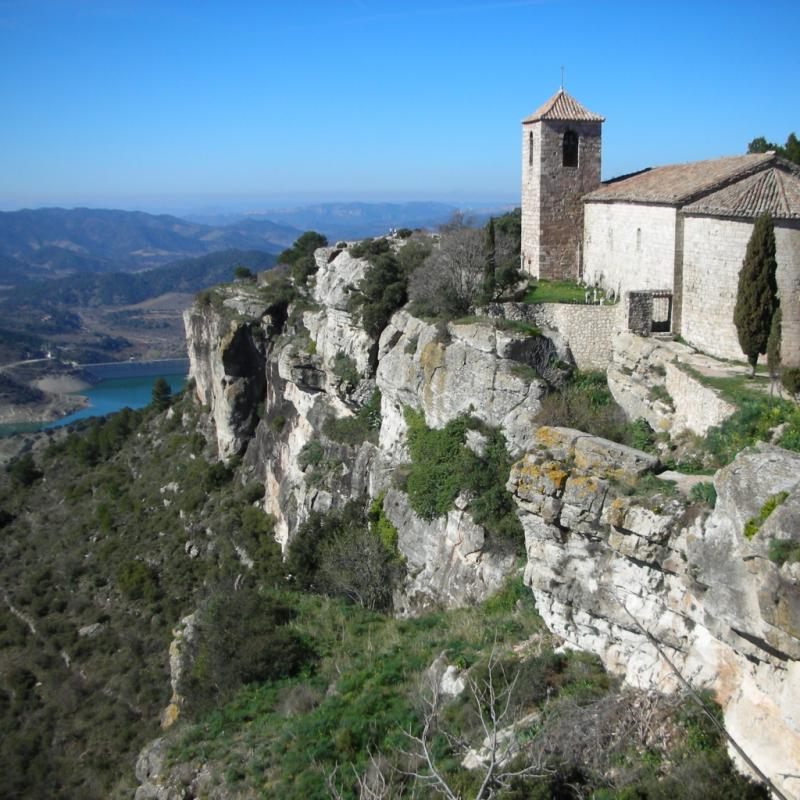 Siurana: en Catalogne. Son site d'escalade offre des voies et des vues magnifiques.©Flickr - Martin Burrow.