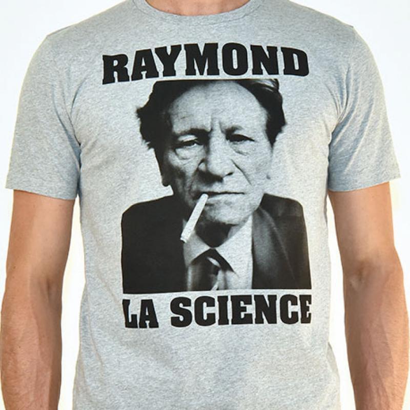 Le T-shirt <em>Raymond la Science</em> de B-shirt, pour refaire le match à volonté!T-shirt <em>Raymond La Science</em>, B-Shirt, 49€.