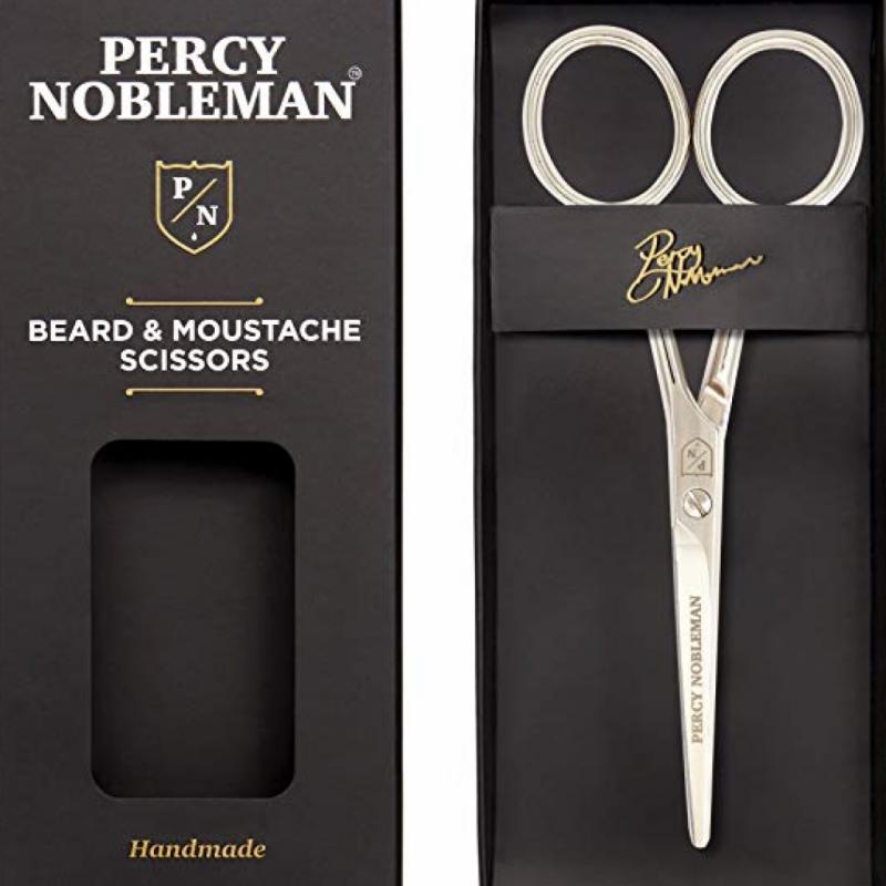 Petits et extrêmement maniables, ces ciseaux sont parfaits pour les moustaches qui demandent une finition nette et précise.