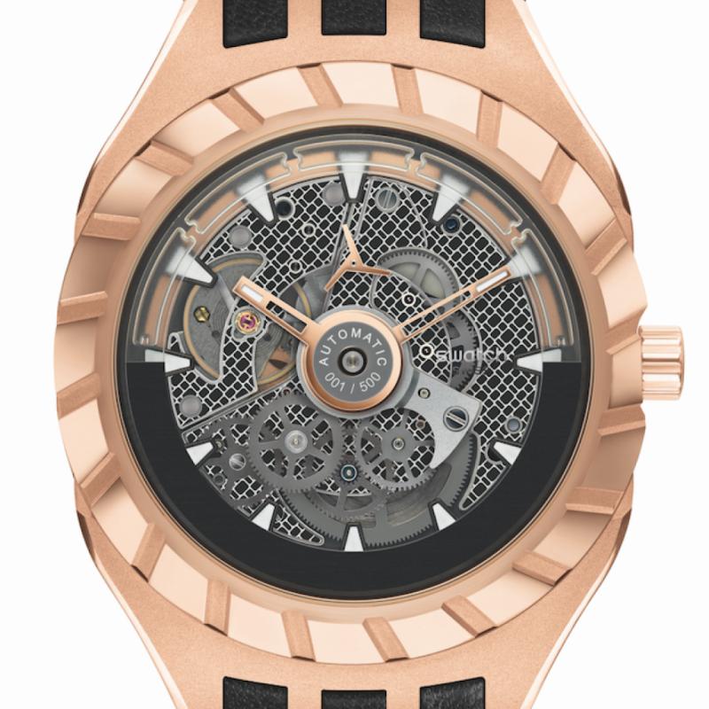 Swatch qui a déjà fait précédemment une incursion dans le segment des montres mécaniques, a lancé la SWATCH FLYMAGIC. Son mouvement à remontage automatique est doté d'un révolutionnaire spiral en Nivachron™,un matériau destiné à lutter contre le magnétisme, un élément qui peut jouer sur la précision.