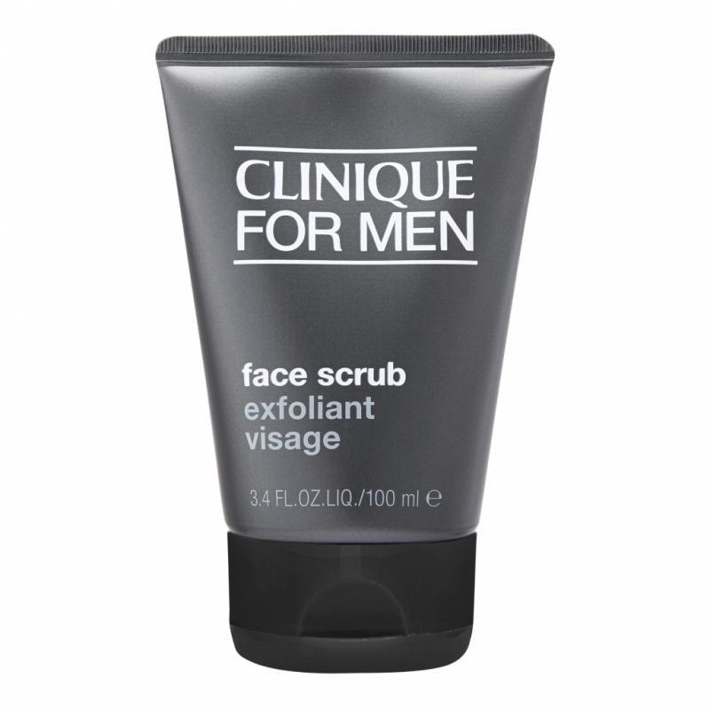 Face Scrub de Clinique For Men est un gommage à la fois frais et non gras qui nettoie l'épiderme en profondeur et permettra ensuite un rasage net et précis. 29,50 €
