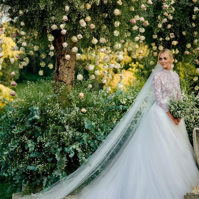 Chiara a toujours aimé la robe de Grace Kelly.
