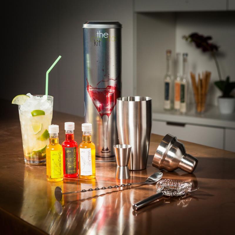 """Kit à cocktails Radbag, pour jouer au parfait bartender, 24,95€ sur <a href=""""http://www.radbag.de"""">www.radbag.de</a>"""