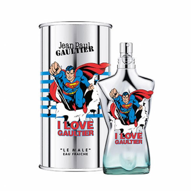 Le parfum de superhéros... parce que c'est ce qu'il est à nos yeux!<br /><em>Le Mâle</em>, Jean-Paul Gaultier, édition limitée, 86€.