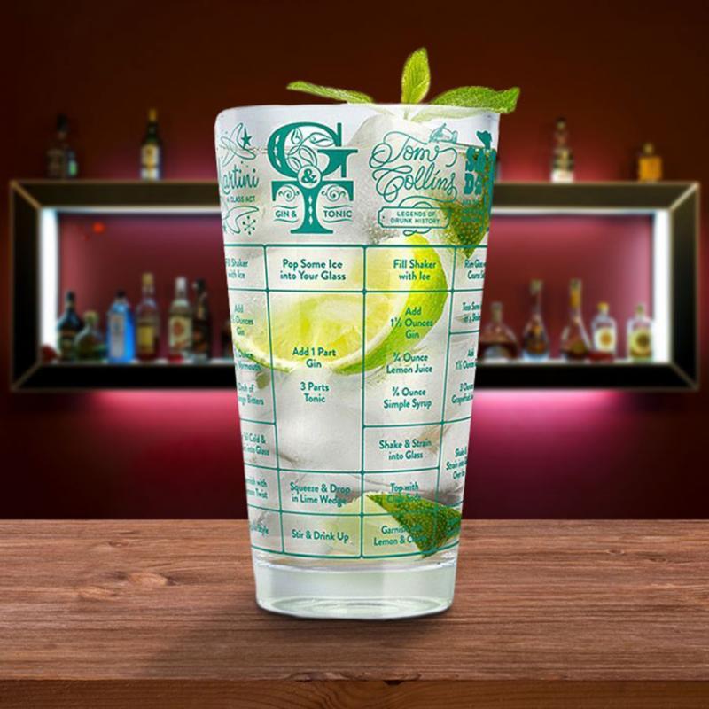 "Verre à cocktail, recettes comprises, Yellow Octopus, 8,86€, <a href=""http://www.yellowoctopus.com.au"">www.yellowoctopus.com.au</a>"