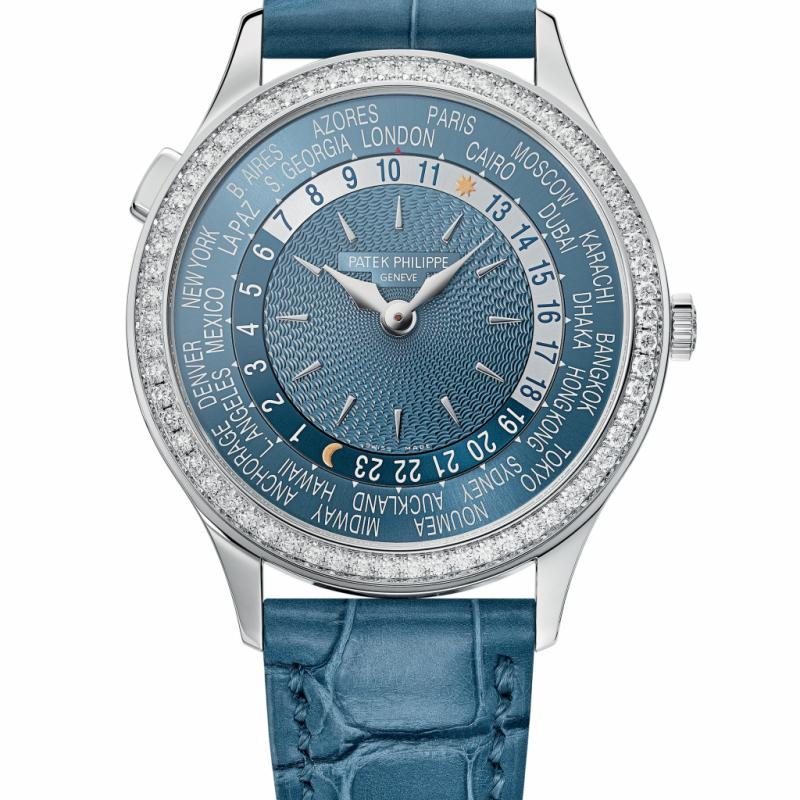 Montre Patek Philippe World Time ref 7130 - Mouvement automatique - 24 Time Zones.