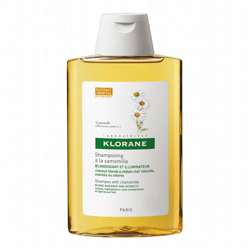 Shampooing camomille, Klorane, 9,20 €.