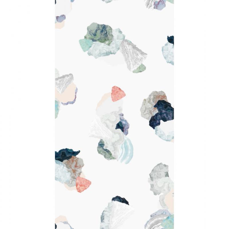 """Minerals, papier peint intissé, 179€/52 x 1000cm. Petite friture, <a href=""""http://www.petitefriture.com"""">www.petitefriture.com</a>."""