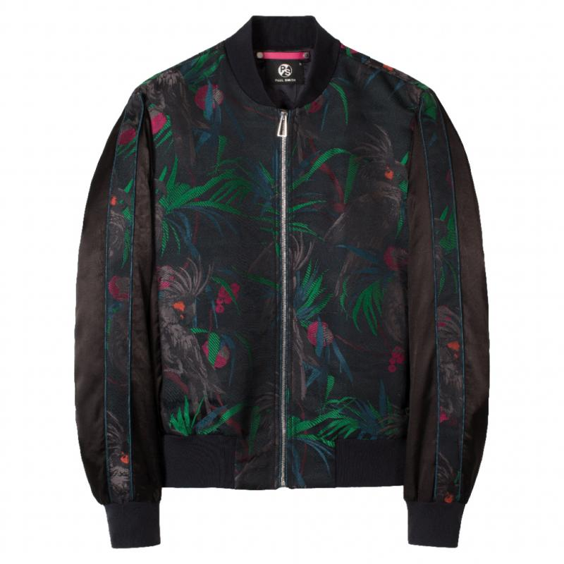 Bomber imprimé, Paul Smith, 560 €.
