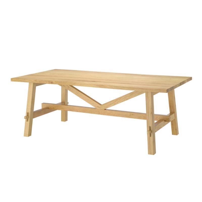 Table en chêne Möckelby, 599 €.