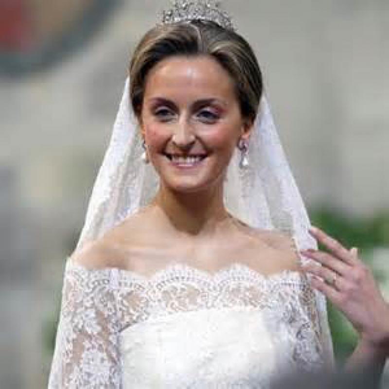 La princesse Claire, aussi,  a choisi Roger pour son mariage. Elle vient encore très régulièrement au salon...