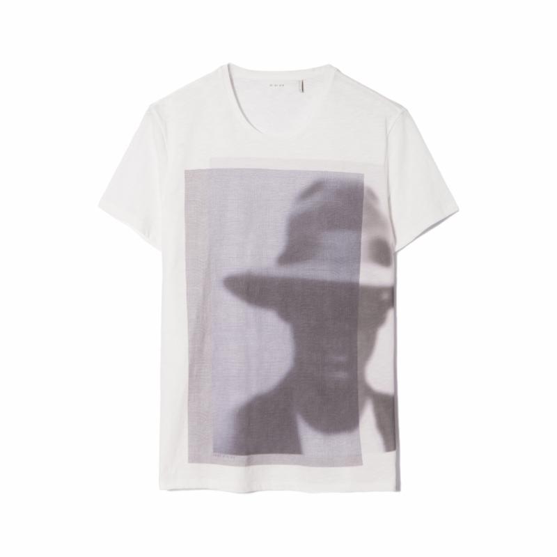 T-shirt imprimé, IKKS, 19€.