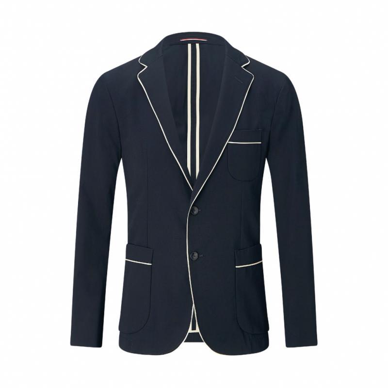 Veste de costume, Tommy Hilfiger, 449€ (costume complet).