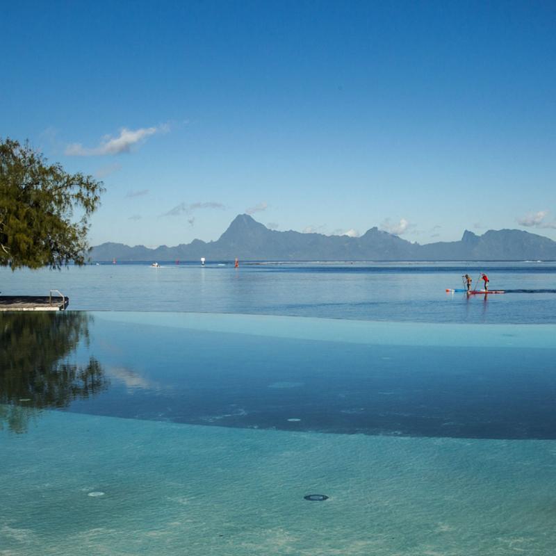 Pour le visiteur étranger, la course est l'occasion de découvrir autrement les paysages de toute beauté.