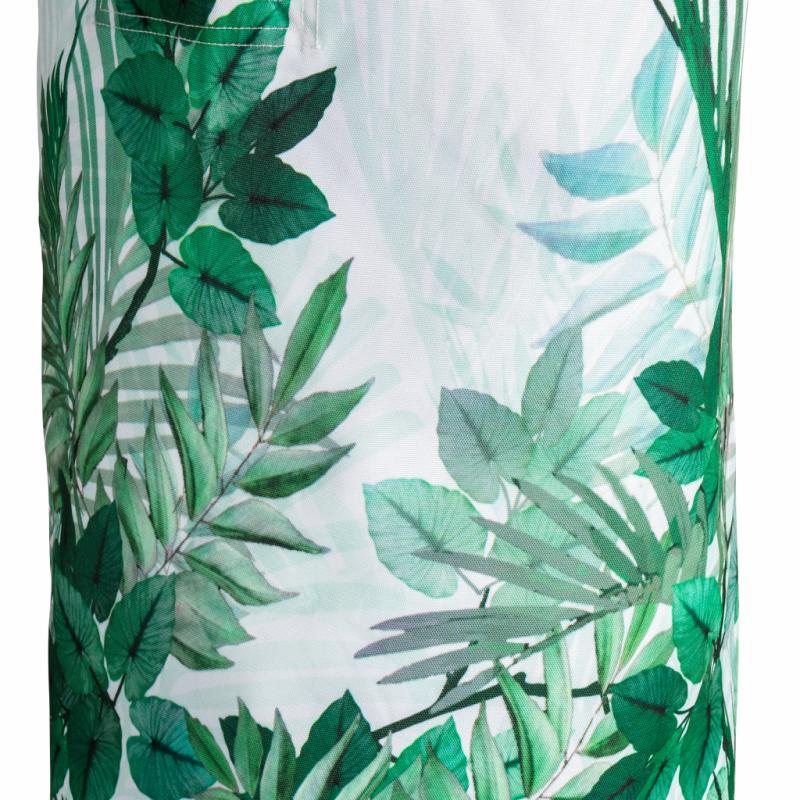 """Sac à linge en polyester (hauteur : 52 cm), 12,99 €. H&M Home. <a href=""""http://www.hm.com"""">www.hm.com</a>."""