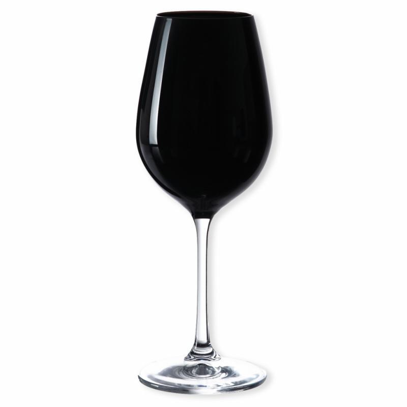 Verre de dégustation en verre noir opaque, Bruno Evrard, 45€ pour 6 verres